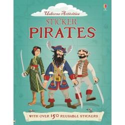 Pirates Sticker Dressing, Carte Usborne Engleza