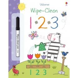 123 Wipe Clean, Carte Usborne Engleza