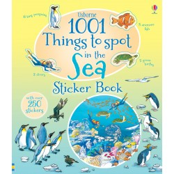 1001 Things To Spot In The Sea Sticker, Carte Usborne Engleza