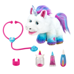 SET DE JOACA VETERINAR UNICORN RAINGLOW