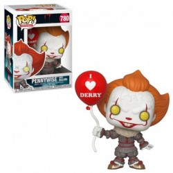 Figurina POP MOVIES: IT 2 - PENNYWISE WITH BALLOON