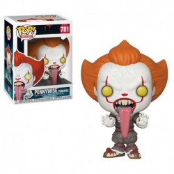 Figurina POP MOVIES: IT 2 - PENNYWISE WITH DOG TONGUE (FUNHOUSE)