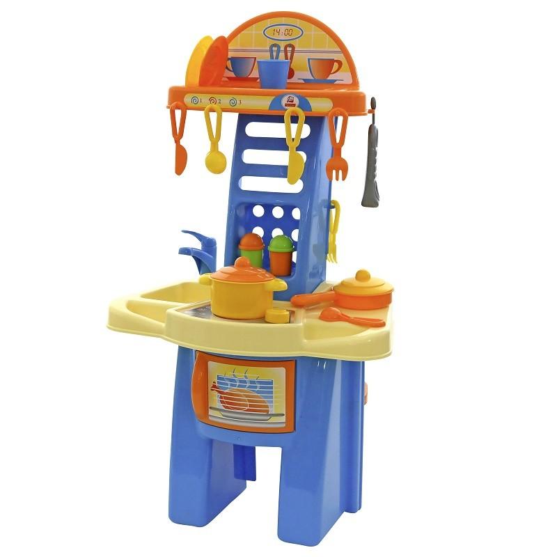 bucatarie pentru copii super kitchen cu accesorii