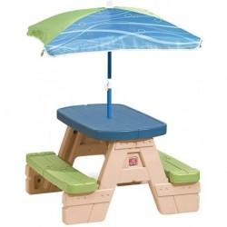 Masa picnic cu umbrela