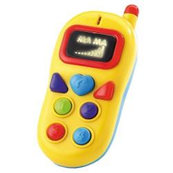 Telefon bebe cu baterii 14 cm - Happy People