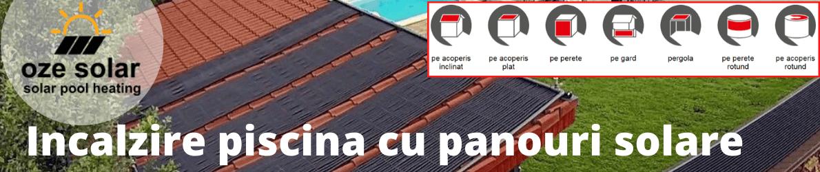 Panouri solare pentru piscina